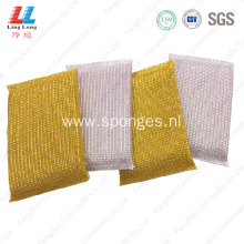 Foam sightly kitchen golden cleaning sponge